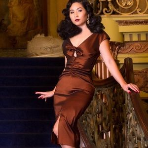 Pinup Girl Dixiefried Niagara Vintage Wiggle Dress